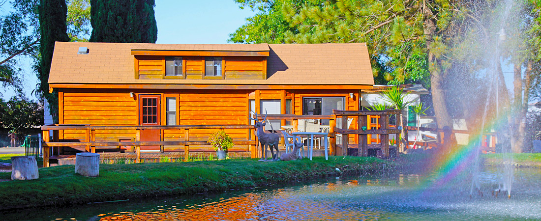 Lakeside Cabin at Cherry Valley Lakes Resort