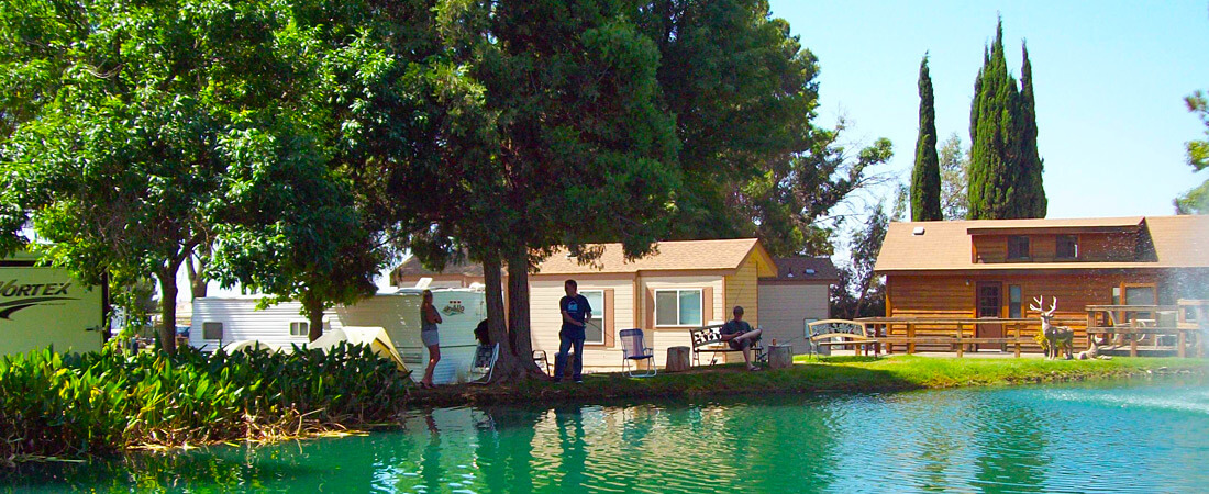 Fishing at the Lake - Cherry Valley Lakes Resort