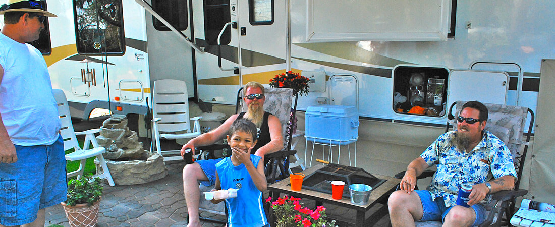 RV Patio Family Fun