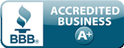BBB A Plus Accredited Rating